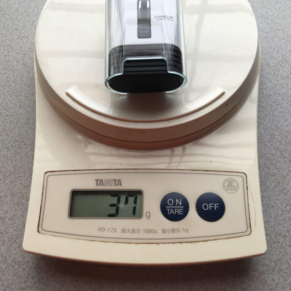 マウスの重量計測