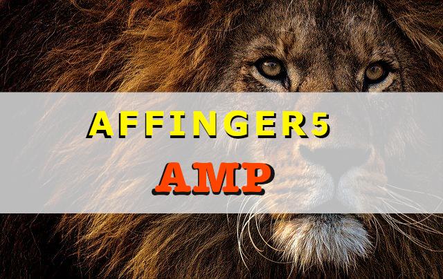 アフィンガー5のAMP設定