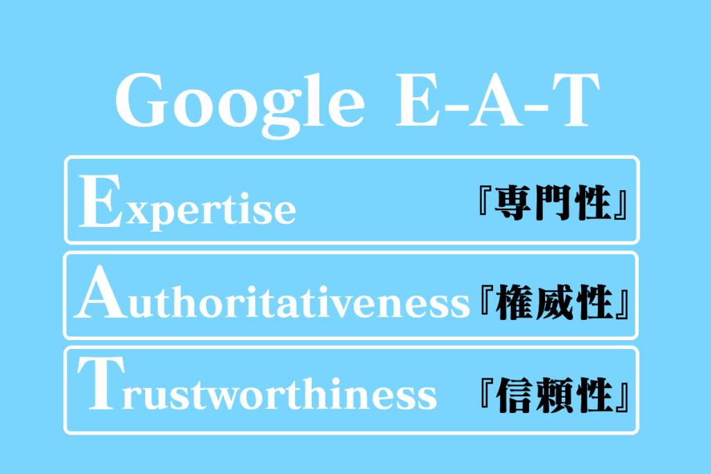 GoogleのE-A-T